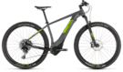 CUBE Reaction Hybrid EAGLE 500 grey´n´green 2019
