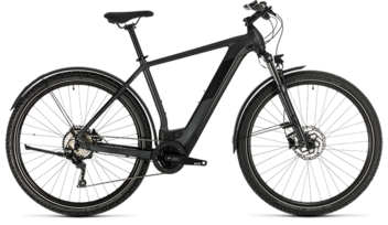 CUBE Cross Hybrid Pro 625 Allroad iridium´n´black 2020