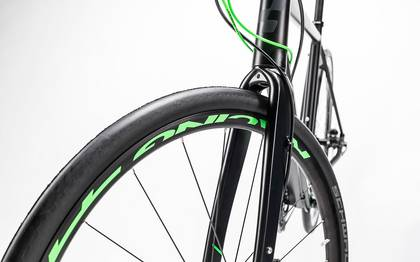 Detail image of Cube SL Road Race black´n´flashgreen 2017 (11)