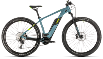 CUBE Reaction Hybrid Race 500 blue´n´green 2020