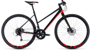 CUBE SL Road Pro black´n´red 2018