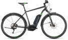 CUBE Cross Hybrid Pro 400 Allroad iridium´n´green 2019