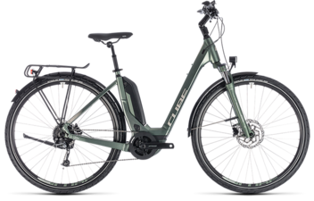 CUBE Touring Hybrid ONE 500 frostgreen´n´silver 2018