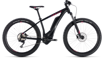 CUBE Access Hybrid Pro 500 black´n´berry 2018