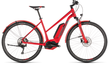 CUBE Cross Hybrid Pro 400 Allroad red´n´grey 2019