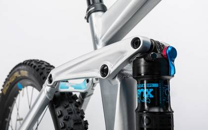Detail image of Cube Stereo Hybrid 160 HPA Race 500 27.5 metal´n´blue 2017 (8)