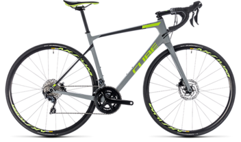 CUBE Attain GTC Race Disc grey´n´green 2018