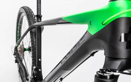 Detail image of Cube Reaction GTC Race 2x carbon´n´green 2017 (6)