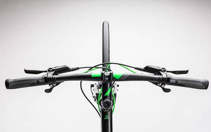 Detail image of Cube SL Road Race black´n´flashgreen 2017 (1)