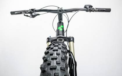 Detail image of Cube Stereo Hybrid 120 HPA Race 500 27.5+ black´n´green 2017 (14)