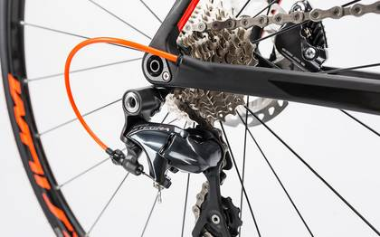 Detail image of Cube Litening C:62 Disc carbon´n´flashred 2017 (13)